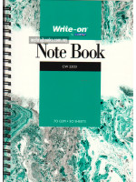 Spiral Bound Note Book (Single Line) A5-70 gsm-50 Sheets
