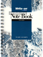 Spiral Bound Note Book (Single Line) A6-70 gsm-50 Sheets