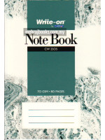 Note Book (Single Line) A6-70 gsm-80 Pages