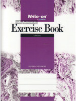 Exercise Book PP Cover (Single Line) F5-70 gsm-200 Pages