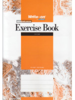 Exercise Book PP Cover (Single Line) A4-70 gsm-120 Pages