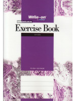 Exercise Book PP Cover (Single Line) A4-70 gsm-300 Pages