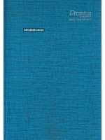 CA3158 Premium Foolscap Book Hard Cover (Single Line) F4-60gsm-208 Pages