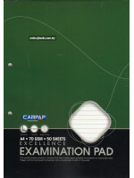 CA3445 Excellence Examination Pad (Side Bound) A4-50 Sheets-70 gsm