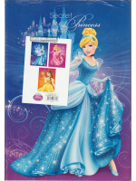 PS23772K Disney Princess Exercise Book A4-80 Pages - 3 Book in a pack