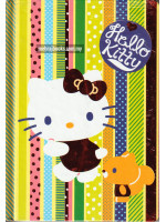 HK29106E Hello Kitty Notebook Hardcover A5-128 Pages 80gsm