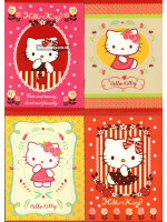 Mini Hello Kitty Note Book (Single Line) A6-80gsm-64 Pages