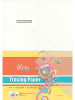 CR36372 Tracing Paper A4-20 Sheets-100gsm
