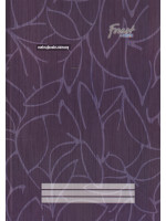 CF7113 Forest Foolscap Book Hard Cover (Single Line) F4-200 Pages