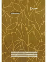 CF7114 Forest Foolscap Book Hard Cover (Single Line) F4-300 Pages