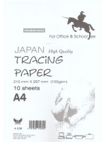 A039 Unicorn Japan High Quality Tracing Paper A4-10 Sheets-100gsm