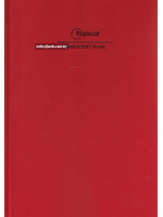HC25521 Manuscipt Book Hard Cover (3 Column) F4-204 Pages