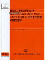 Real Property Gains Tax Act 1976 (Act 169) & Selected Orders