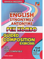 English Synonyms & Antonyms Pek Combo Guided Composition Exercise Year 4.5.6