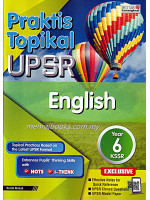 Praktis Topikal UPSR English Year 6