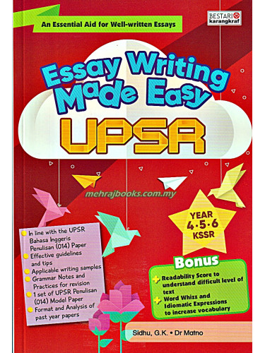 Essay Writing Made Easy UPSR Year 4-5-6