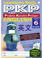 Lembaran Kerja PKP English Year 6, 英文 年级 6