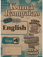 Kunci Rampaian English Year 4