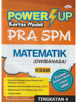 Power UP Kertas Model PRA SPM Matematik Tingkatan 4-Dwibahasa