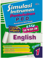 Simulasi Instrumen Pentaksiran PBD English Year 1