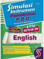 Simulasi Instrumen Pentaksiran PBD English Year 3