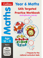 Collins Maths Age 10-11 Year 6 SATs Targeted Practice Workbook