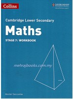 Collins Cambridge Lower Secondary Maths Stage 7: Workbook