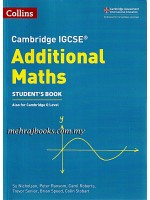 Collins Cambridge IGCSE Additional Maths Student's Book