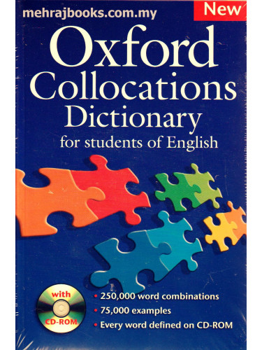 Oxford Collocations Dictionary with CD-ROM