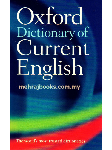 Oxford Dictionary of Current English 4th Edition