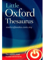 Little Oxford Thesaurus 3rd Edition (Hardcover)
