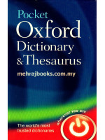 Pocket Oxford Dictionary and Thesaurus 2nd Edition (Hardcover)