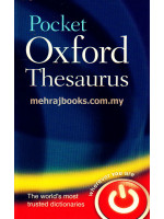 Pocket Oxford Thesaurus 2nd Edition (Hardcover)