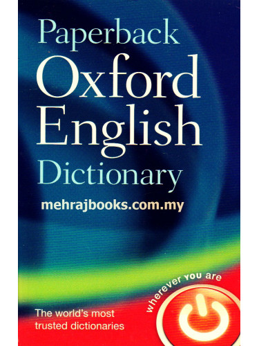 Paperback Oxford English Dictionary7th Edition