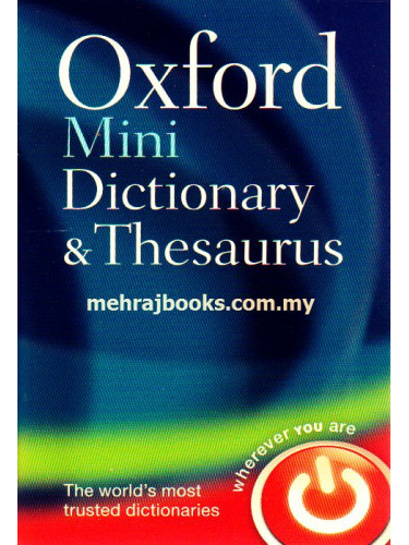 Oxford Mini Dictionary and Thesaurus2nd Edition