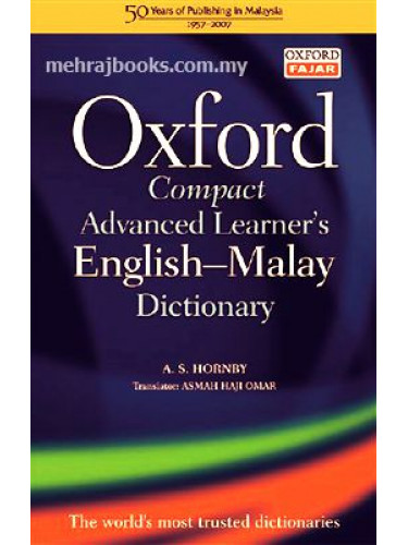 Oxford Compact Advanced Learner's English-Malay Dictionary