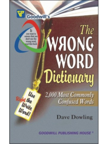 The Wrong Word Dictionary