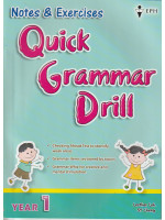 Notes & Exercise Quick Grammar Drill  Year 1