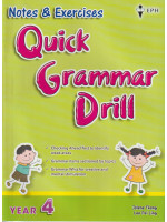 Notes & Exercise Quick Grammar Drill  Year 4