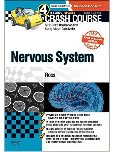 Crash Course Nervous System Updated Print + eBook edition:  4ed