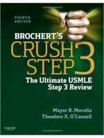 Brochert's Crush Step 3: The Ultimate USMLE Step 3 Review 4ed