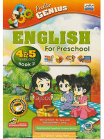 Praktis Genius English For Preschool 4 & 5 Years Old Book 2