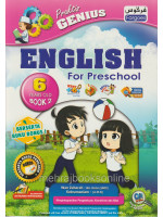 Praktis Genius English For Preschool 6 Years Old Book 2