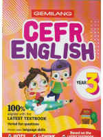 Gemilang CEFR English Year 3
