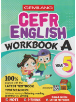 Gemilang CEFR English Workbook A Year 5