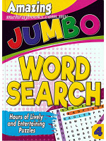 Amazing Jumbo Word Search 4