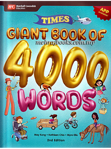 Times Giant Book of 4000 Words 2nd Edition