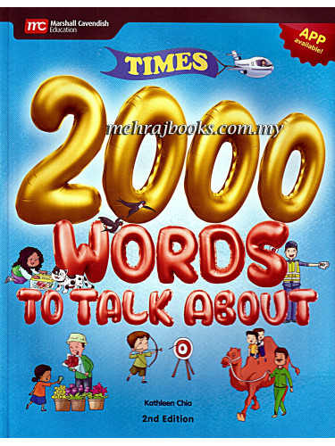 Times 2000 Words To Talk About 2nd Edition