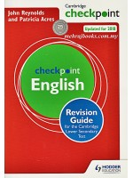 Cambridge Checkpoint English Revision Guide for the Cambridge Lower Secondary Test