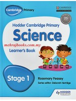 Hodder Cambridge Primary Science Learner's Book Stage 1